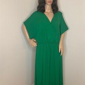 MODCLOTH Large Emerald Green Wide Leg Jumpsuit